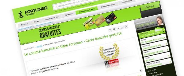 Des offres promotionnelles chez Fortuneo jusqu'au 30 juin