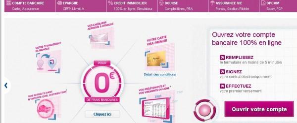 Les banques en ligne proposent de recevoir une documentation gratuite